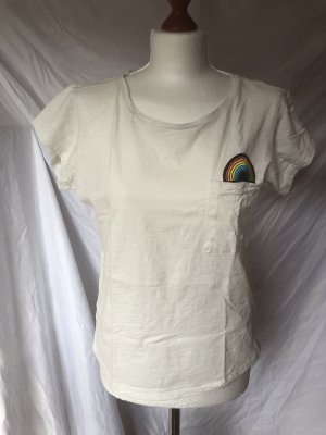 Cross Jeans T-Shirt Regenbogen S 36