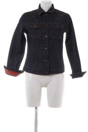 Cross Jeansjacke mehrfarbig extravaganter Stil