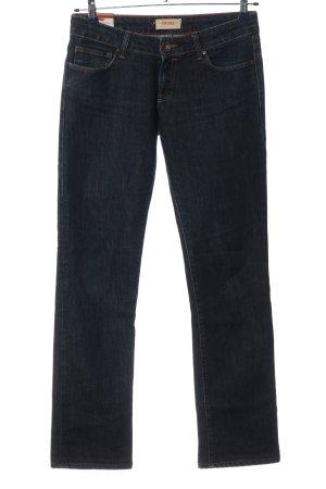 Cross Jeansschlaghose blau Casual-Look