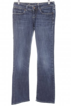 Cross Jeansschlaghose dunkelblau Casual-Look