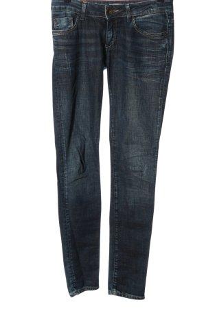 Cross Jeans cigarette bleu style mode des rues