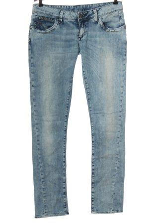 Cross Jeans cigarette bleu style décontracté
