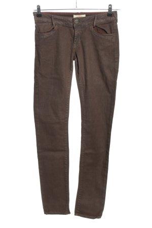 Cross Skinny Jeans braun Casual-Look
