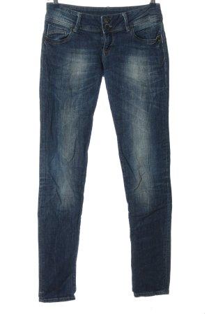 Cross Jeansy o obcisłym kroju niebieski W stylu casual
