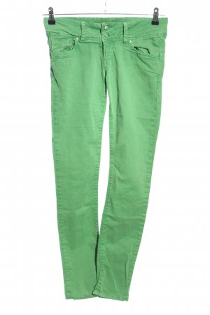 Cross Skinny Jeans grün Casual-Look