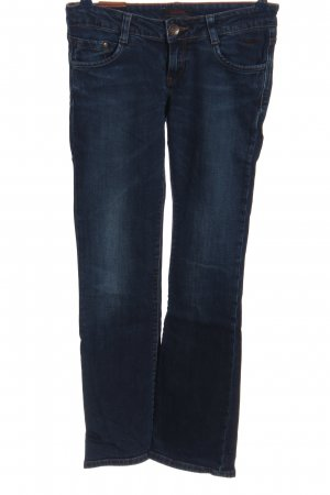 Cross Straight-Leg Jeans blau Casual-Look