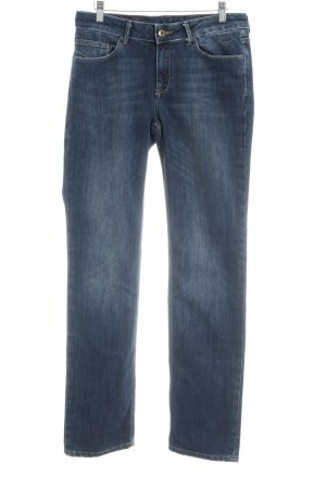 Cross Straight Leg Jeans dark blue washed look