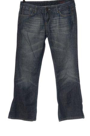 Cross Jeansy z prostymi nogawkami niebieski W stylu casual