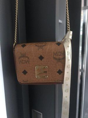 MCM Mini sac cognac-brun