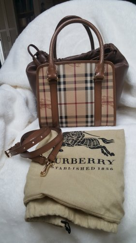 Burberry Sac bandoulière ocre cuir
