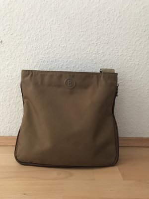 Crossbody-Tasche aus Nylon in braun
