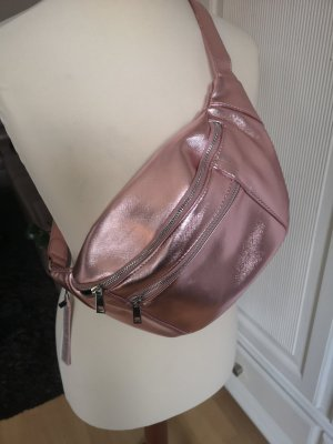 Crossbody Tasche metallic rosa