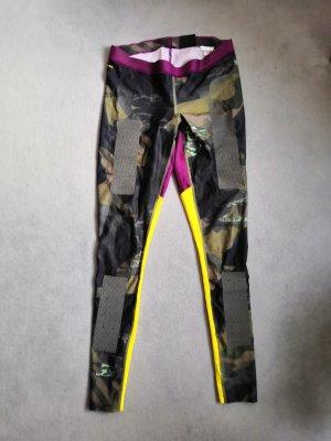 Reebok Pantalone da ginnastica multicolore