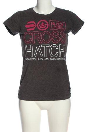 Crosshatch Print-Shirt