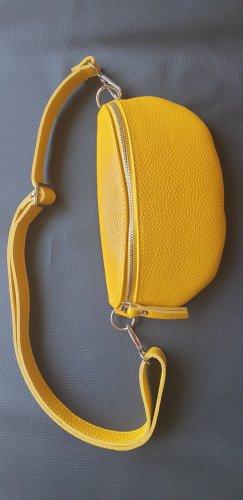 Borse in Pelle Italy Banane jaune cuir
