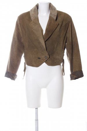 Cruse Leather Jacket bronze-colored casual look