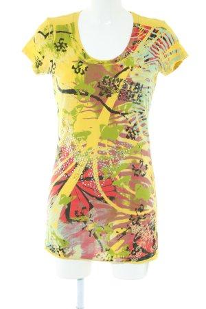 Crystal Rock by Christian Audigier Lang shirt abstract patroon