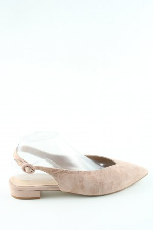 Slingback Ballerinas cream business style