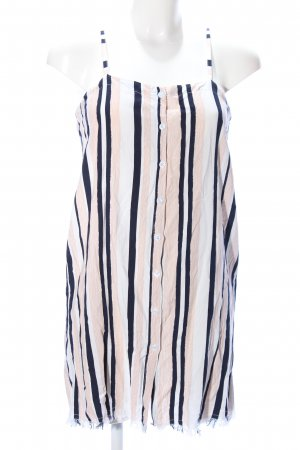 Long Top striped pattern casual look