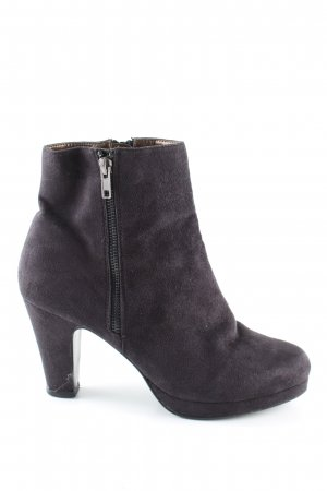 Cube Ankle Boots schwarz Casual-Look