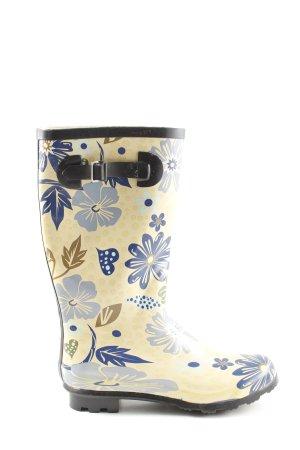 Cube Wellington laarzen bloemenprint casual uitstraling