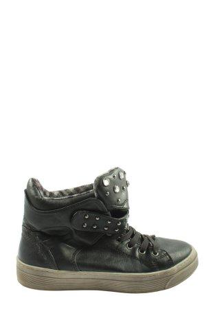 Cube High Top Sneaker black casual look