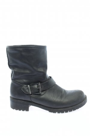 Cube Short Boots black casual look