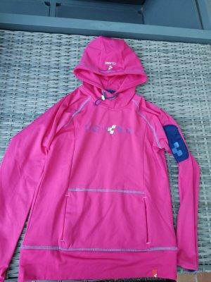Cube Maglione con cappuccio rosa