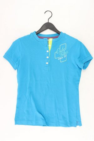 Cube Sports Shirt turquoise cotton