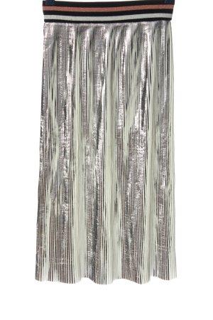Cubic Plaid Skirt color gradient elegant