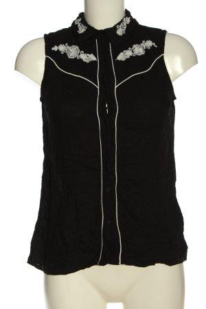 Cubus Blusa nero-bianco stile casual