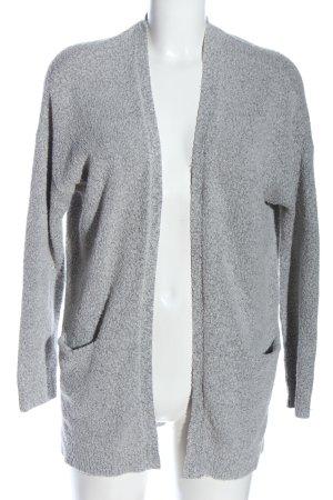 Cubus Cardigan grigio chiaro puntinato stile casual