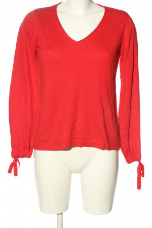 Cubus Feinstrickpullover rot Casual-Look
