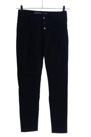 Cubus High Waist Jeans schwarz Casual-Look