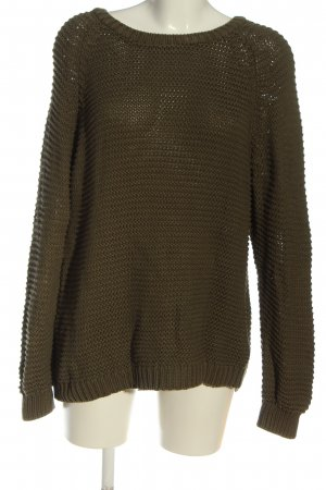 Cubus Oversized Pullover khaki Casual-Look