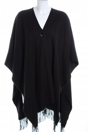 Cubus Poncho schwarz Casual-Look