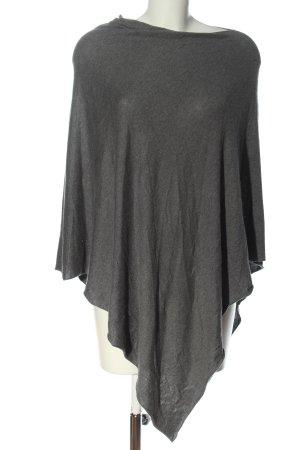 Cubus Poncho grigio chiaro puntinato stile casual