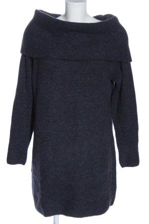 Cubus Maglione lungo grigio chiaro puntinato stile casual