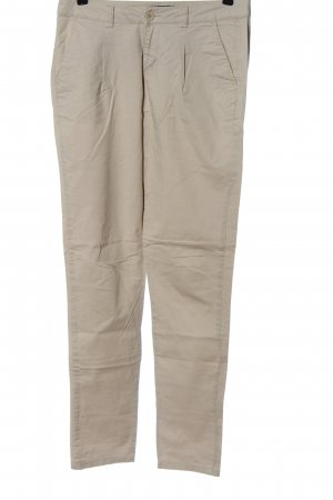 Cubus Jersey Pants natural white casual look