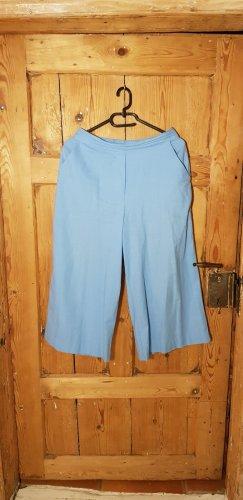 Ichi Culotte bleu azur coton