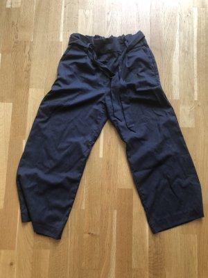 H&M Pantalone culotte blu scuro