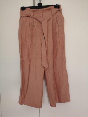 Zara Basic Pantalone culotte rosa antico