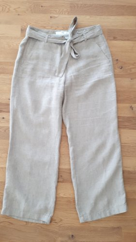 Brax Lniane spodnie beżowy