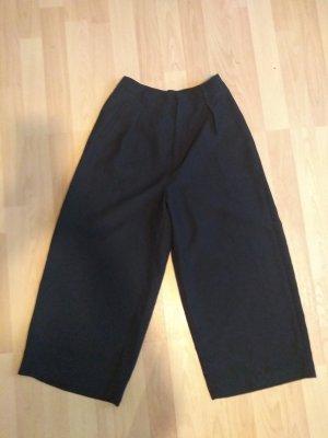 Bershka Culottes black polyester