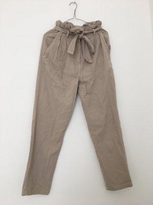 H&M Pantalon chinos crème-beige