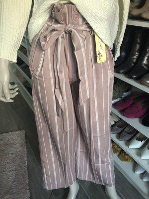 Falda pantalón de pernera ancha multicolor
