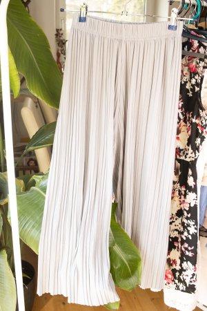 keine Marke Falda pantalón de pernera ancha gris claro
