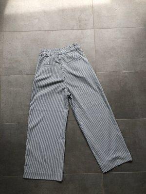 H&M Culottes white-dark blue
