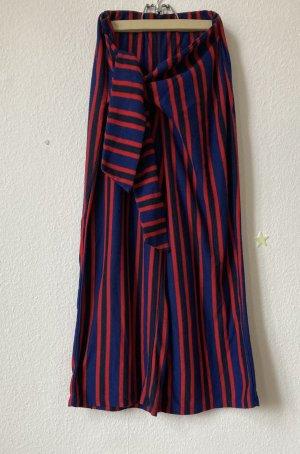 Pull & Bear Falda pantalón de pernera ancha multicolor
