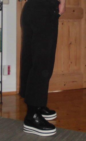 MNG Culottes black cotton